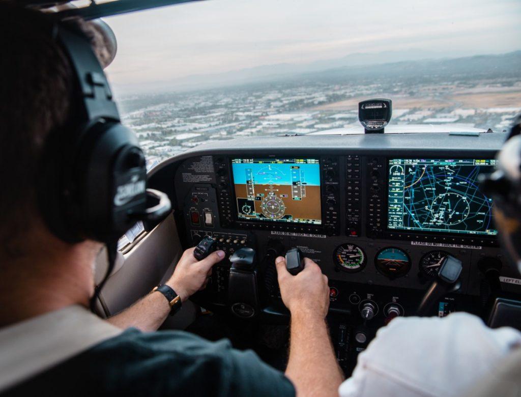 Eleve pilote avion